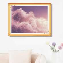 Pintura de diamante con patron de nube