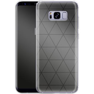 Samsung Galaxy S8 Plus Silikon Handyhuelle - Ash von caseable Designs