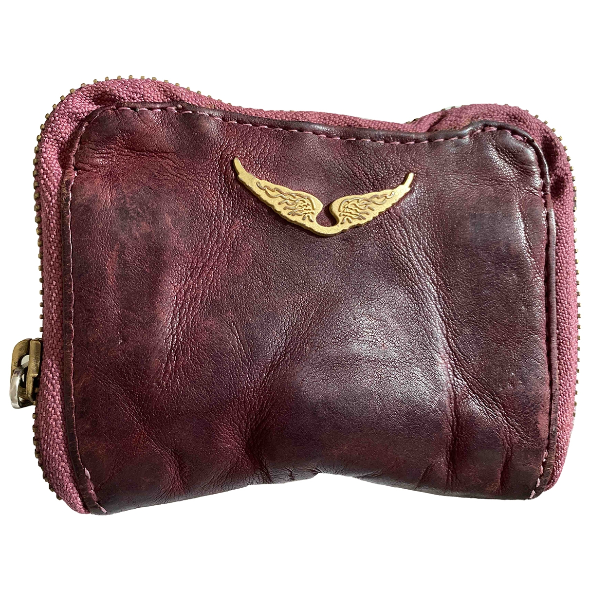 Zadig & Voltaire \N Purple Leather wallet for Women \N