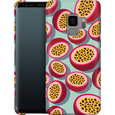 Samsung Galaxy S9 Smartphone Huelle - Passion Fruit von Susana Paz
