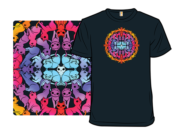 Mandala Kitty T Shirt