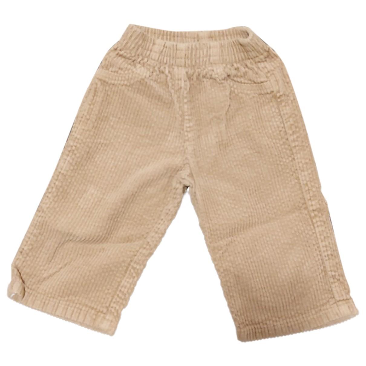 Autre Marque - Pantalon   pour enfant en velours - camel