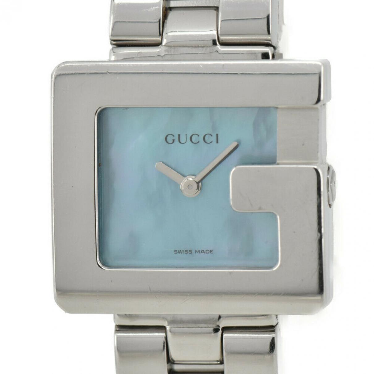 Gucci - Montre   pour femme en acier