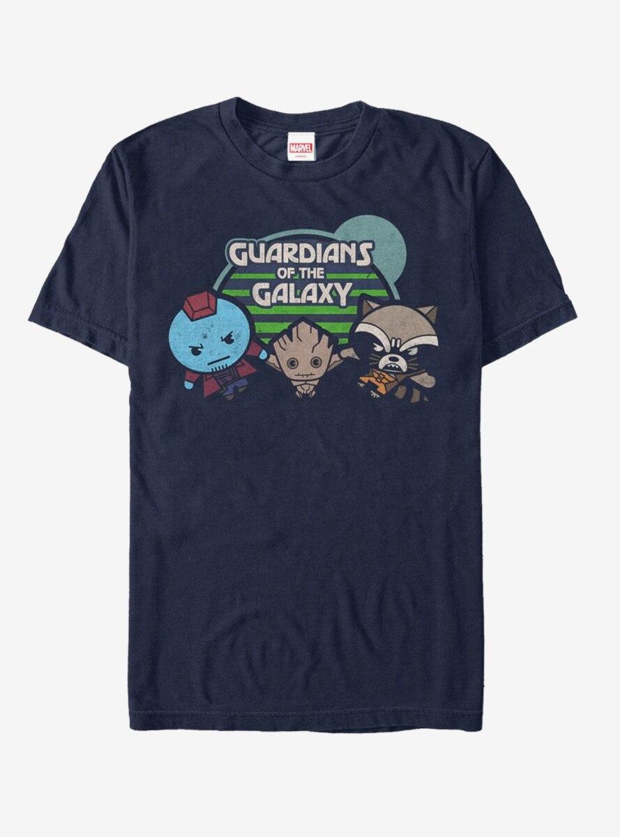 Guardians of the Galaxy Best Friends Kawaii T-Shirt