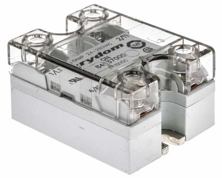 Sensata / Crydom 10 Arms Solid State Relay, Zero Crossing, Panel Mount, SCR, 280 V ac Maximum Load