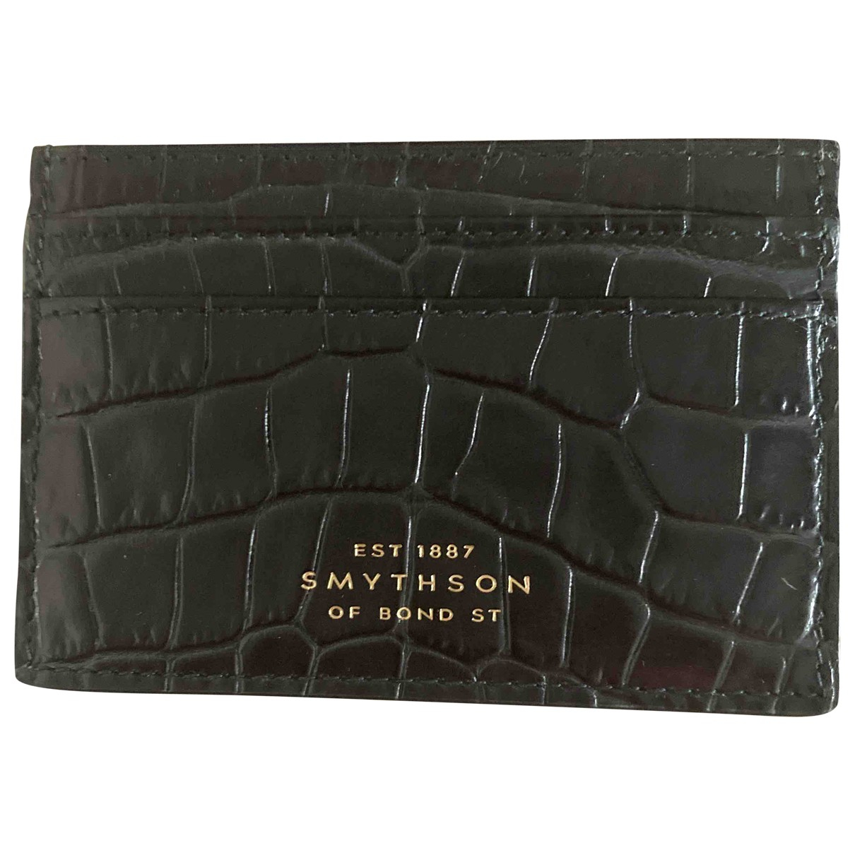 Smythson \N Leather Purses, wallet & cases for Women \N