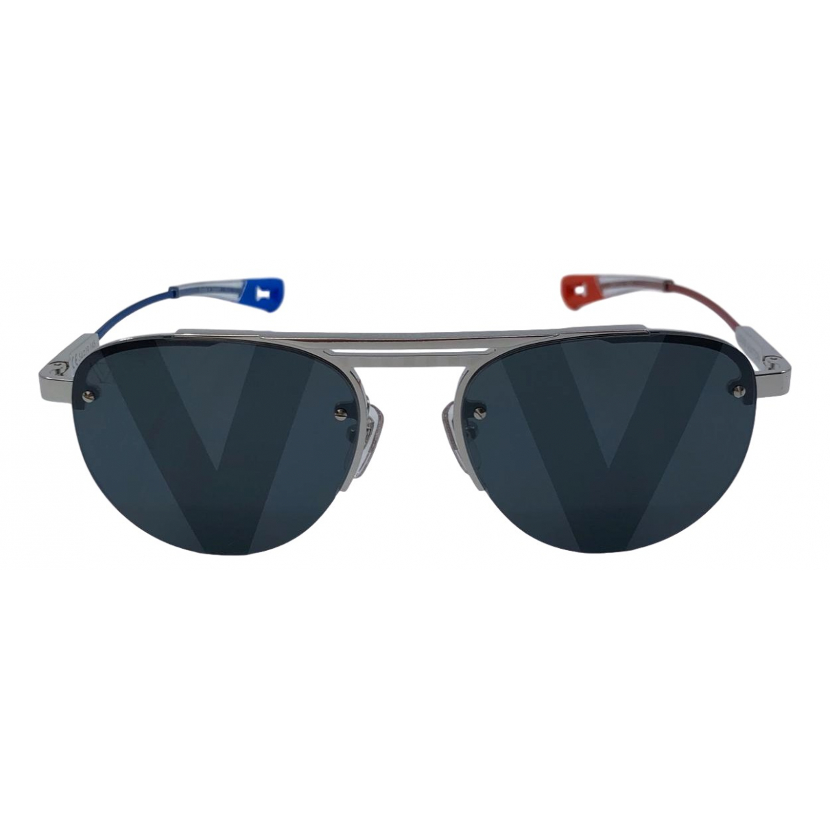 Louis Vuitton \N Silver Metal Sunglasses for Men \N