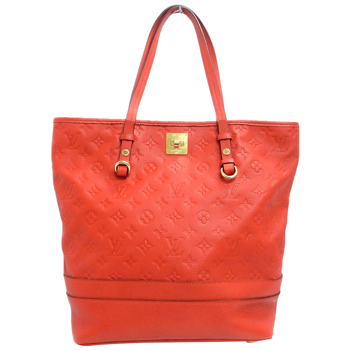 Louis Vuitton Citadine Red Leather handbag for Women \N