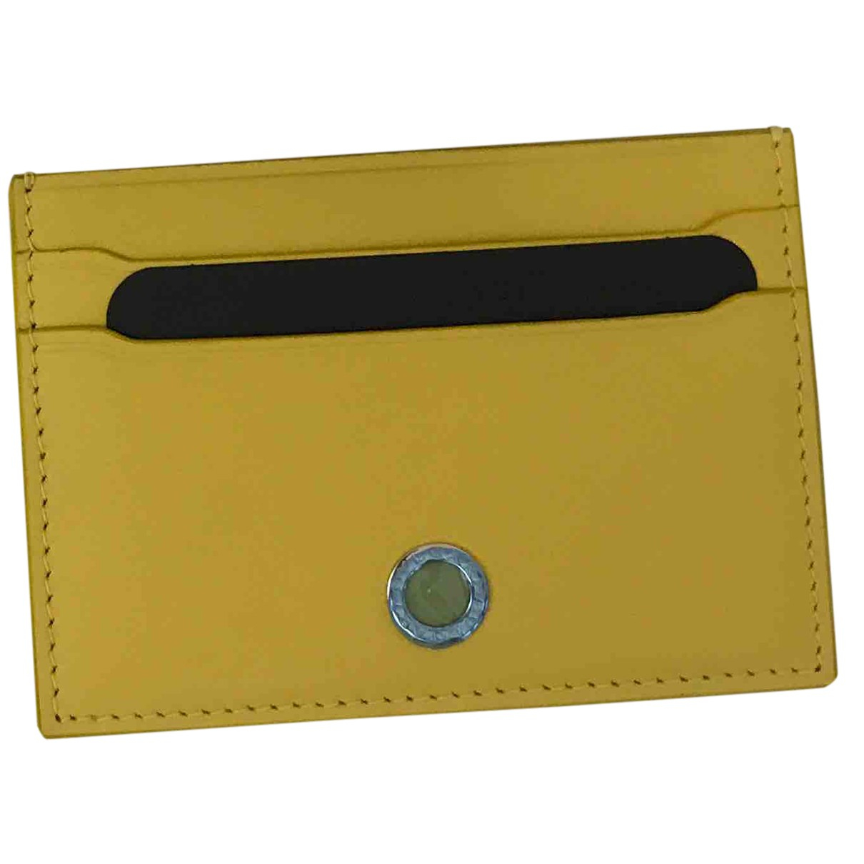Bvlgari N Yellow Leather Purses, wallet & cases for Women N