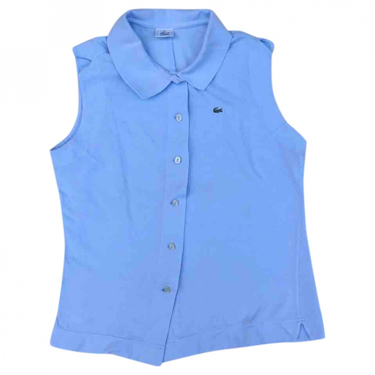 Lacoste \N Turquoise Cotton  top for Women 44 IT