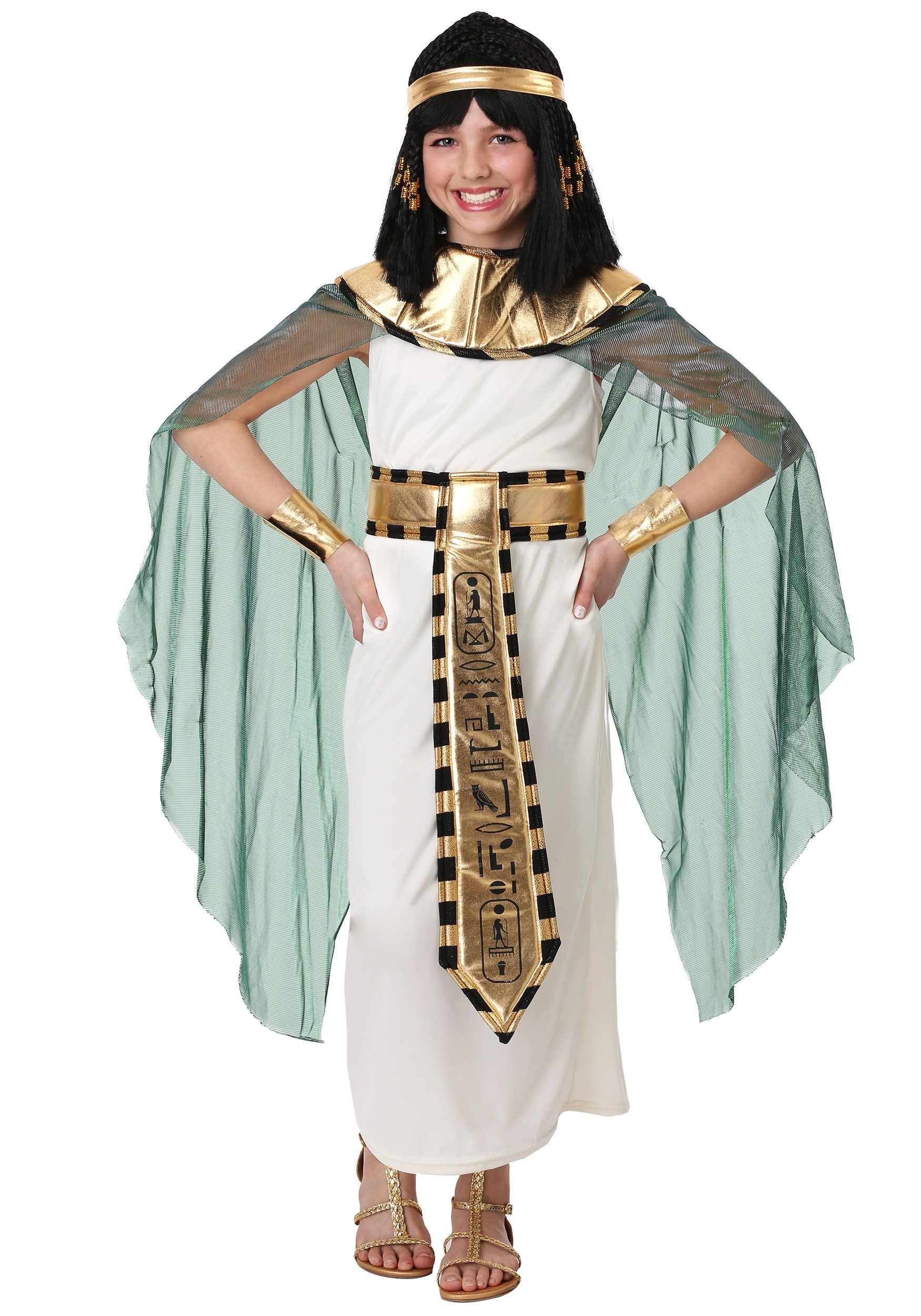 Girls Queen of the Nile Costume