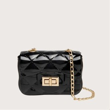 Quilted Mini Chain Crossbody Bag