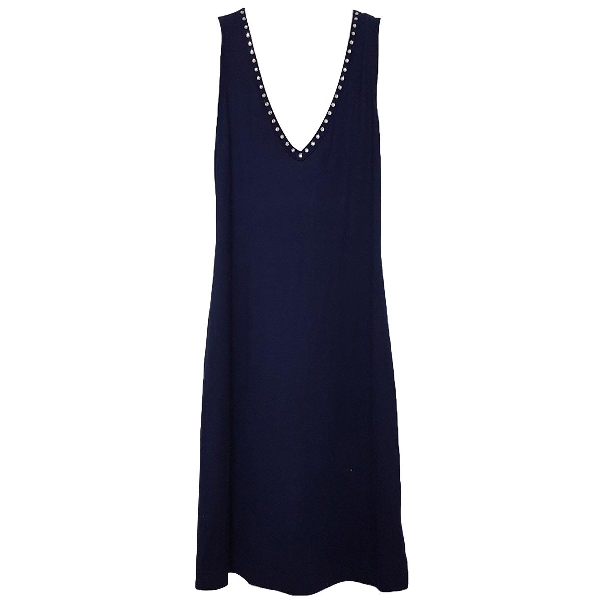 Dolce & Gabbana \N Kleid in  Blau Synthetik