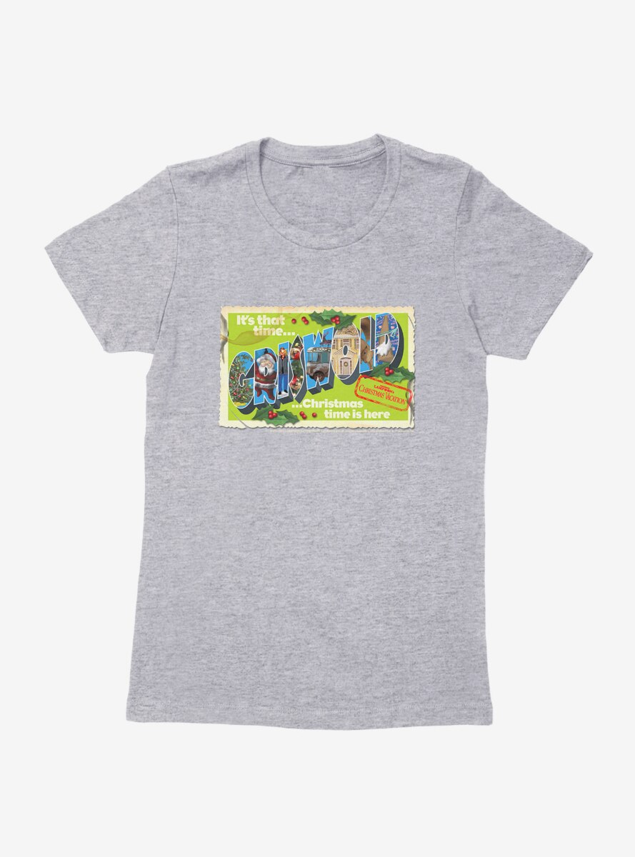 National Lampoon's Christmas Vacation Griswold Postcard Womens T-Shirt