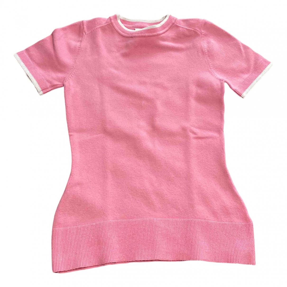 Joostricot - Top   pour femme en soie - rose