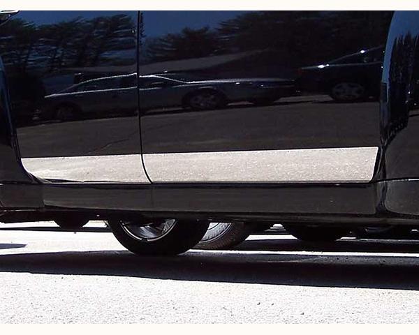 Quality Automotive Accessories 4-Piece Rocker Panel Accent Trim Kit Chevrolet HHR 2007