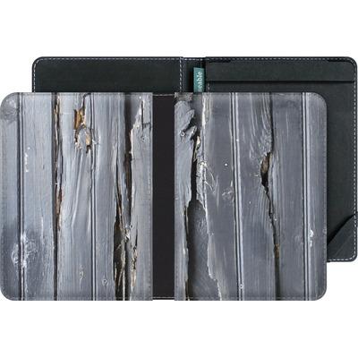 tolino vision 4 HD eBook Reader Huelle - Wood Black Fence von Brent Williams