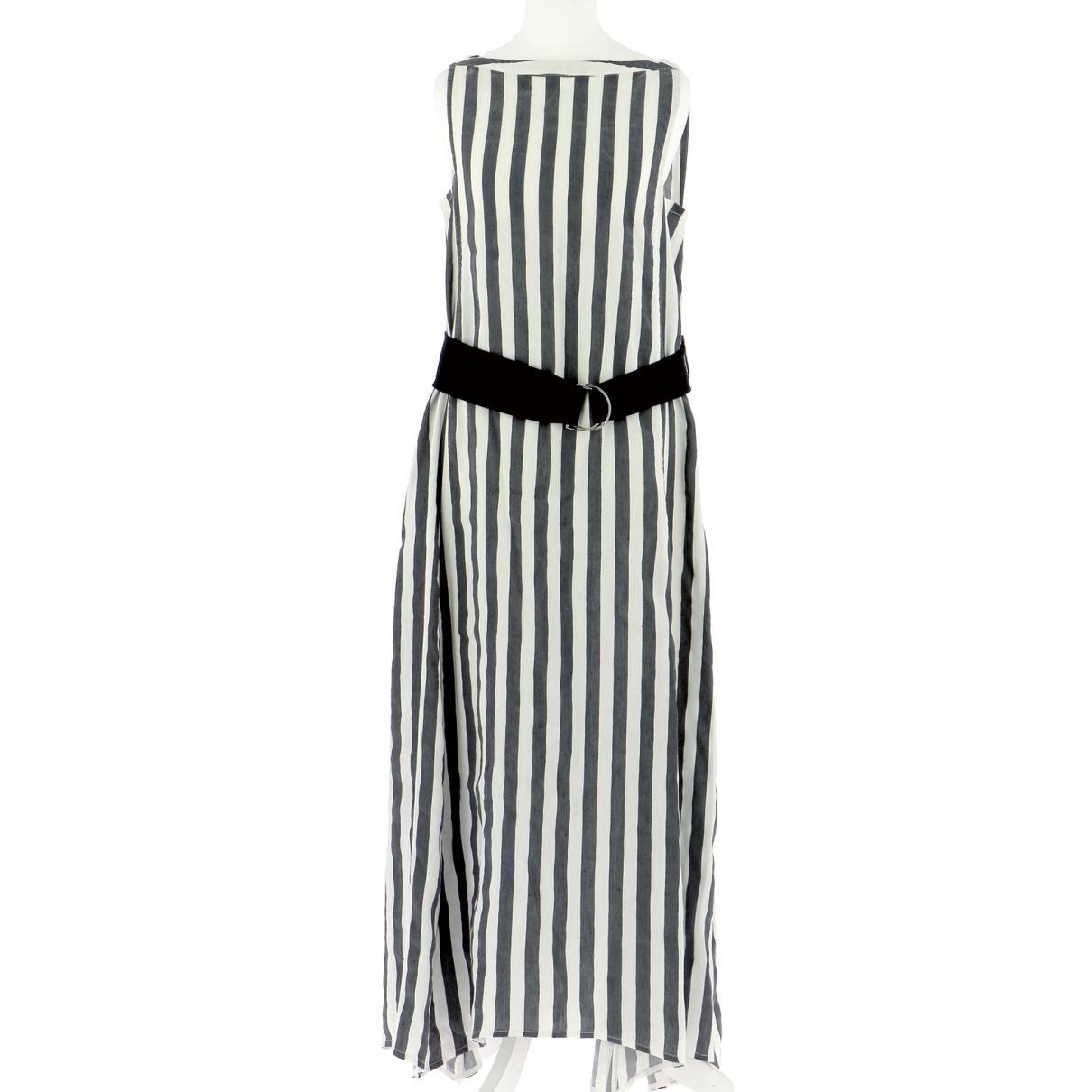 Tara Jarmon \N Multicolour Linen dress for Women 38 FR