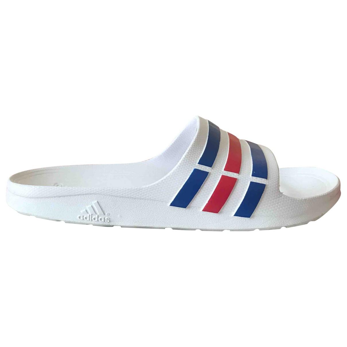 Adidas \N White Sandals for Women 7 UK
