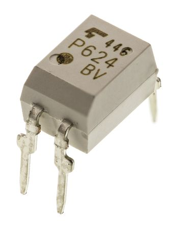 Toshiba , TLP240G(F(O AC Input MOSFET Output Optocoupler, Through Hole, 4-Pin DIP (2)