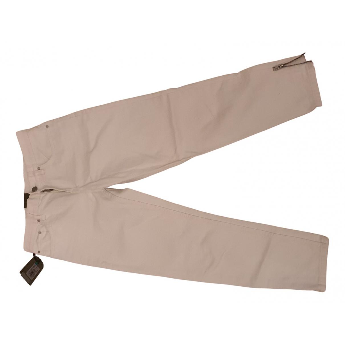 All Saints \N White Denim - Jeans Jeans for Women 36 FR