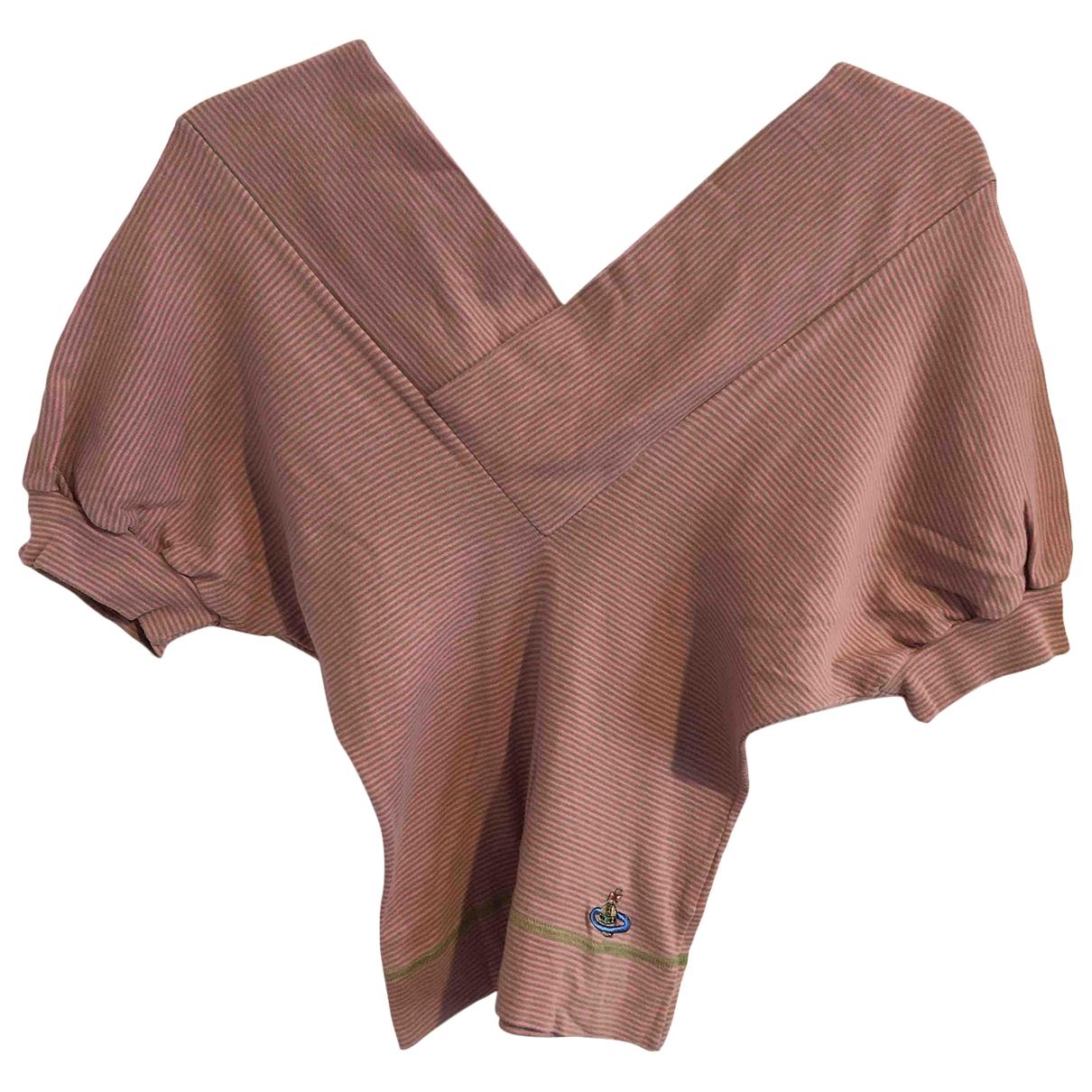 Vivienne Westwood Red Label - Top   pour femme en coton - rose