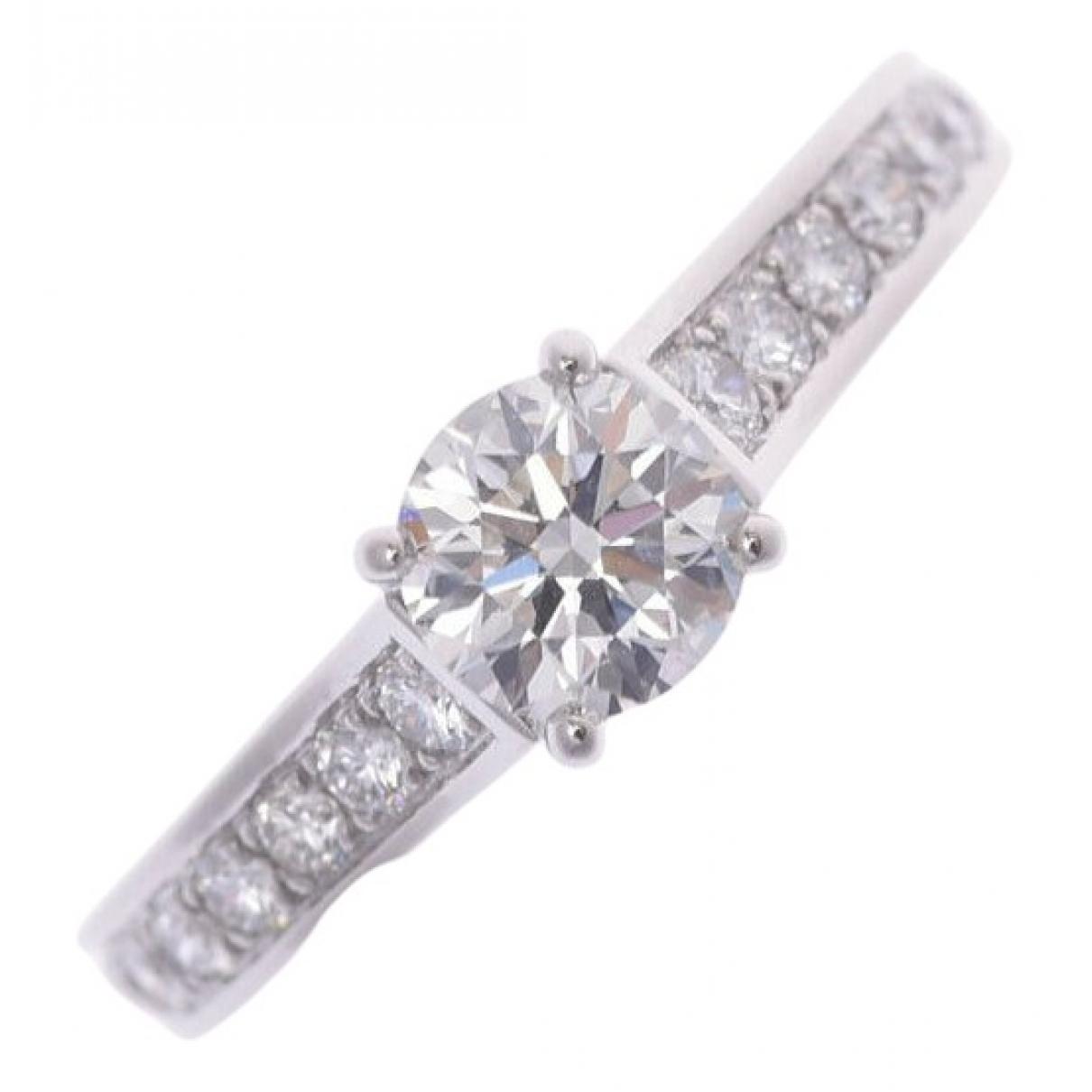 Cartier \N Ring in  Silber Platin