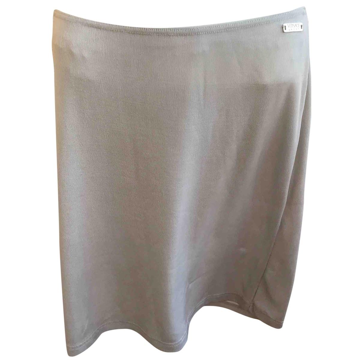 Versace Jeans \N Rocke in  Grau Polyester