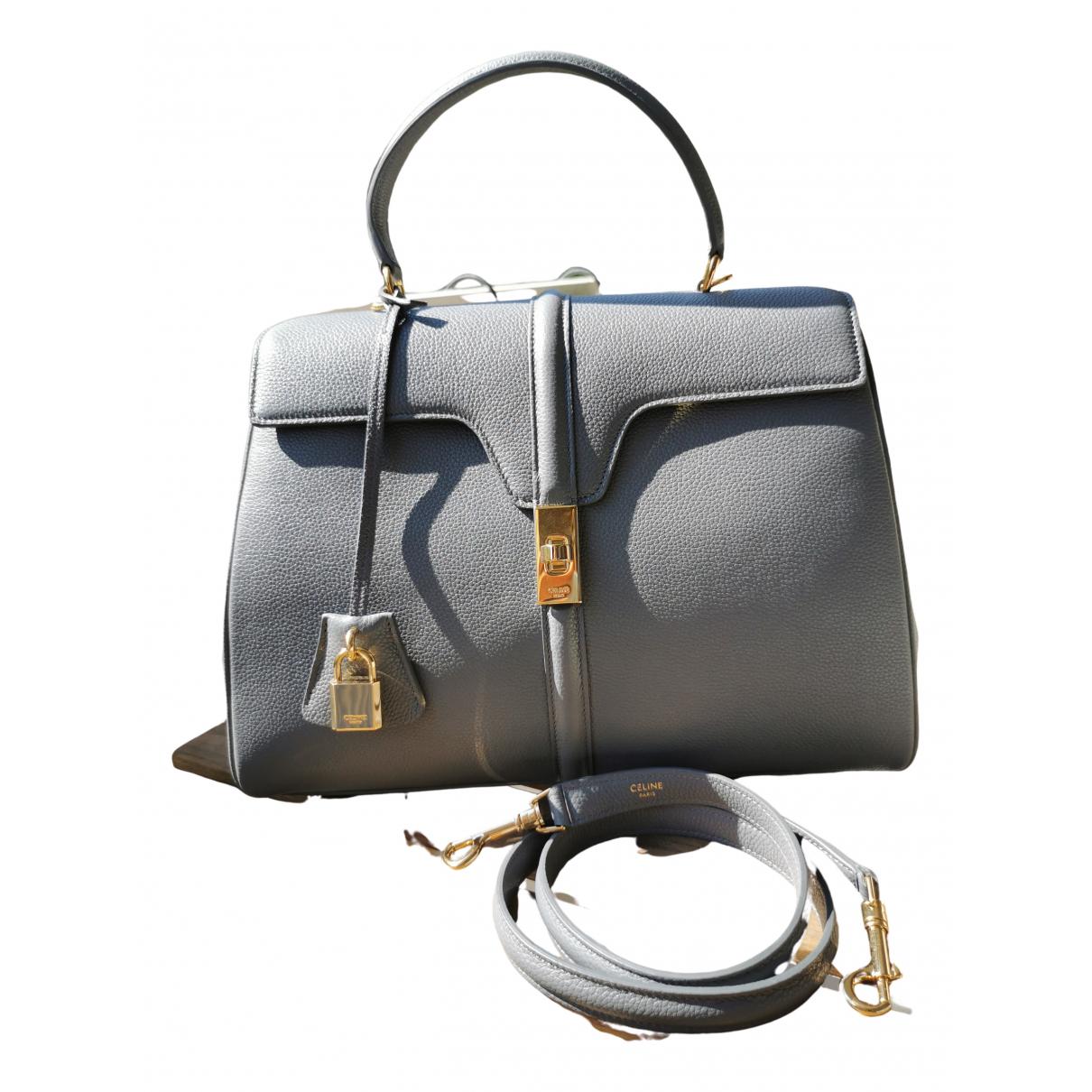 Celine Sac 16 Grey Fur handbag for Women \N