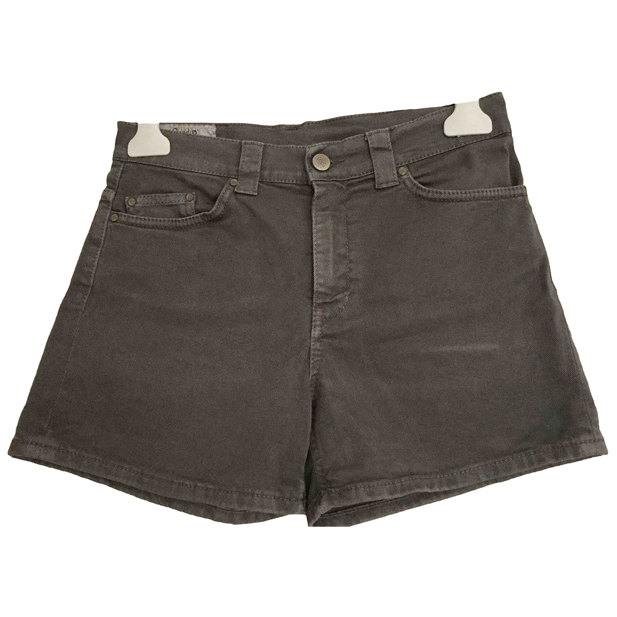 Dondup \N Brown Denim - Jeans Shorts for Women 40 IT