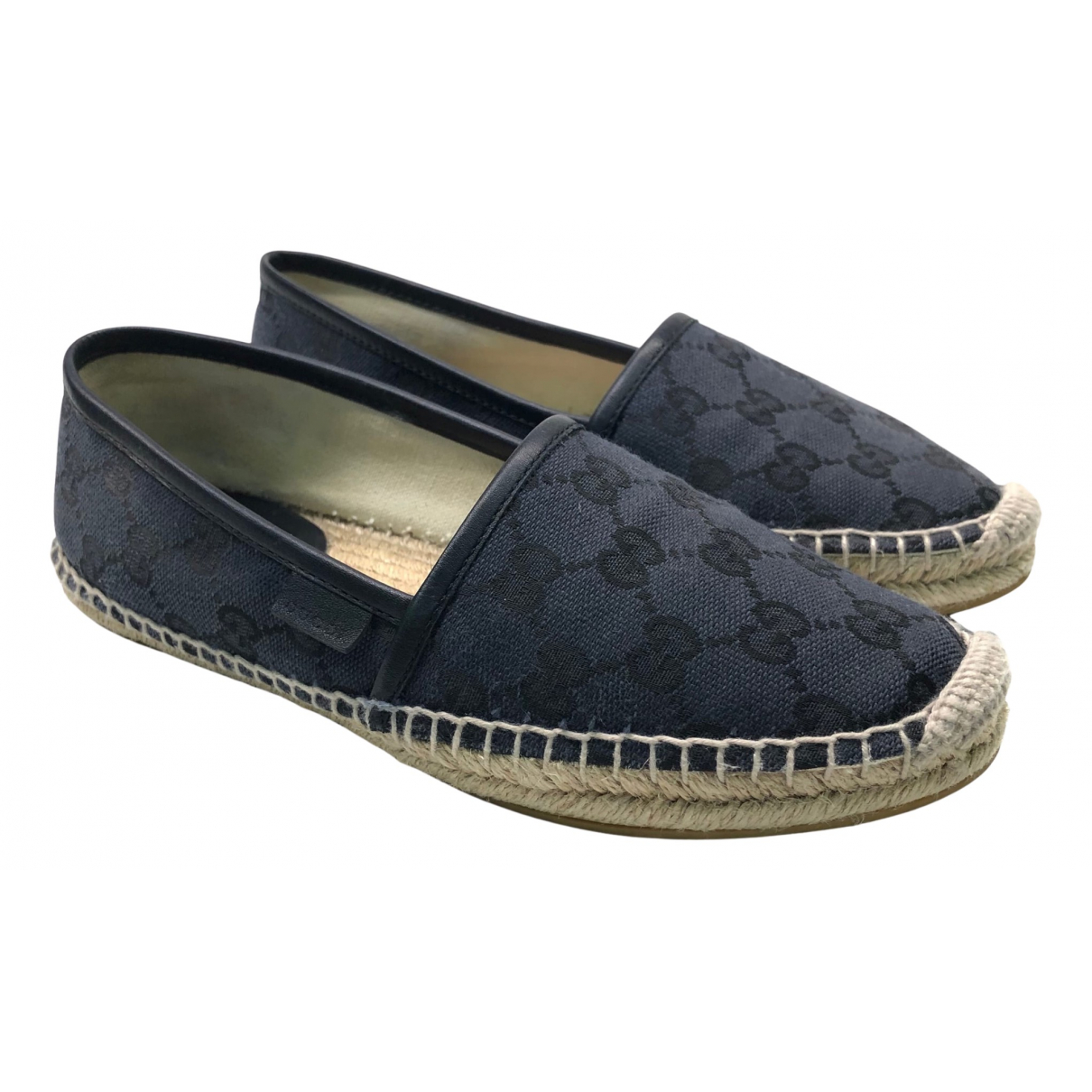Gucci \N Black Cloth Espadrilles for Women 35.5 EU