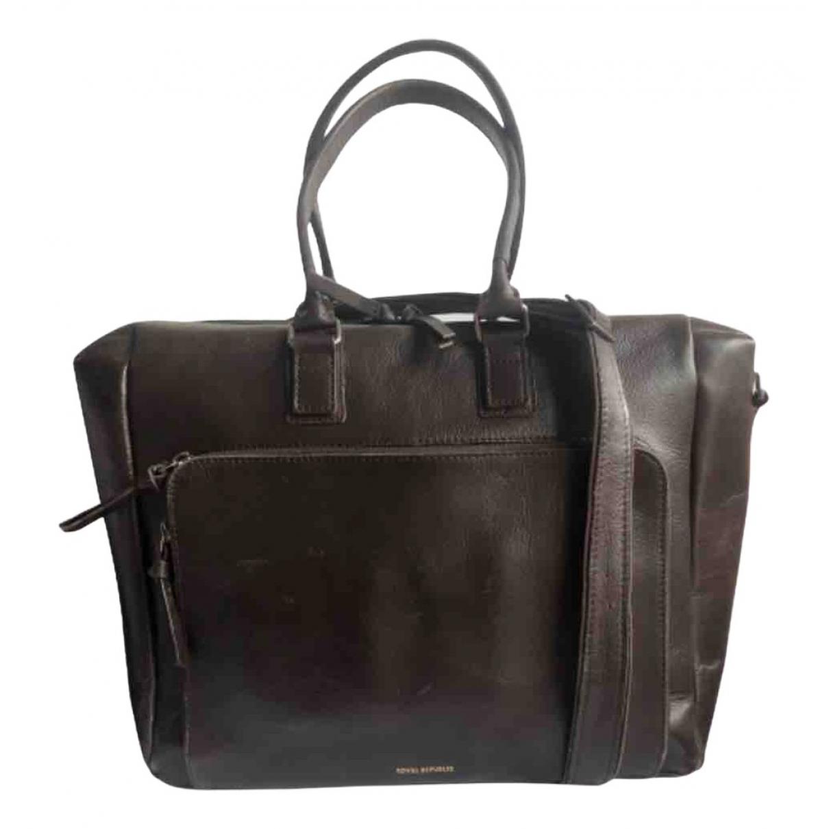 Royal Republiq \N Brown Leather bag for Men \N