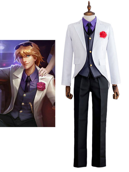 Milanoo League Of Legend Lol Debonair Ezreal Ezrealthe Prodigal Explorer Cosplay Costume Halloween
