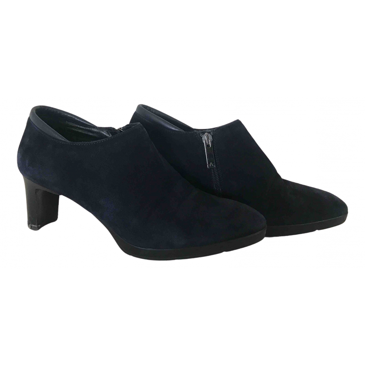 Russell & Bromley N Blue Suede Ankle boots for Women 39 EU