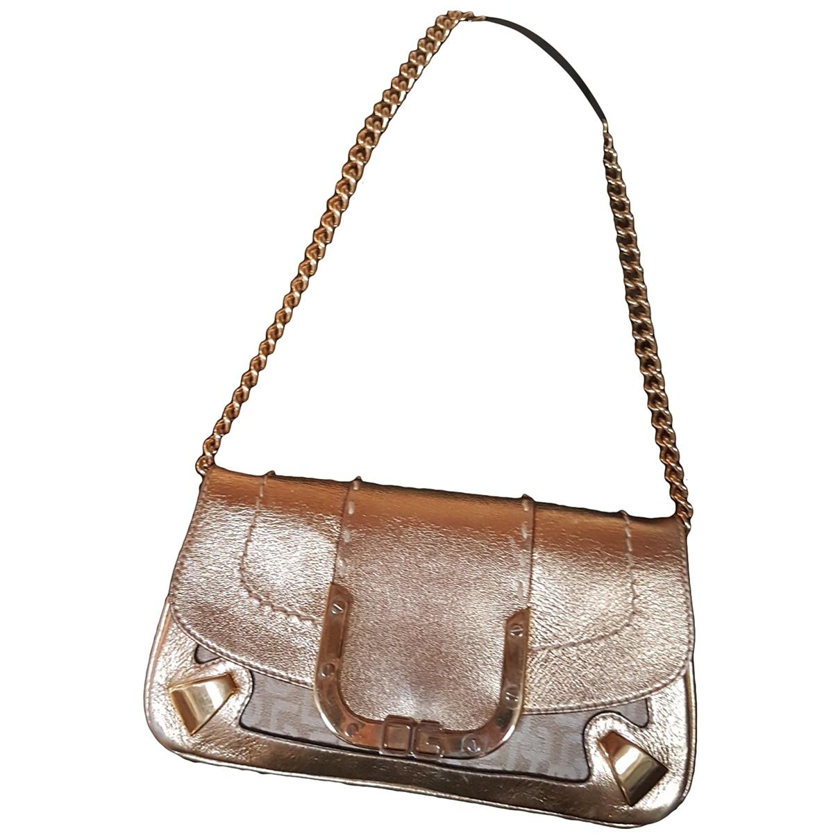 Dolce & Gabbana \N Handtasche in  Gold Leder