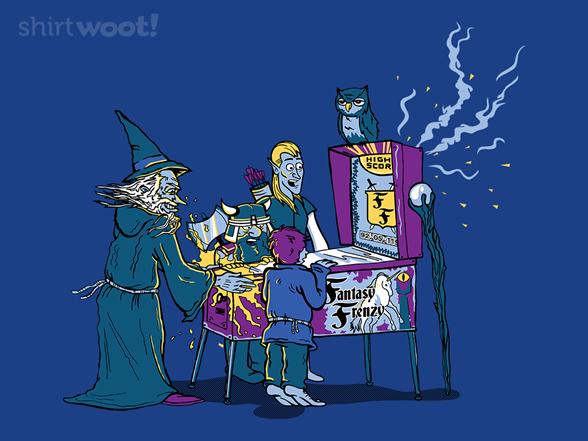 A True Pinball Wizard T Shirt