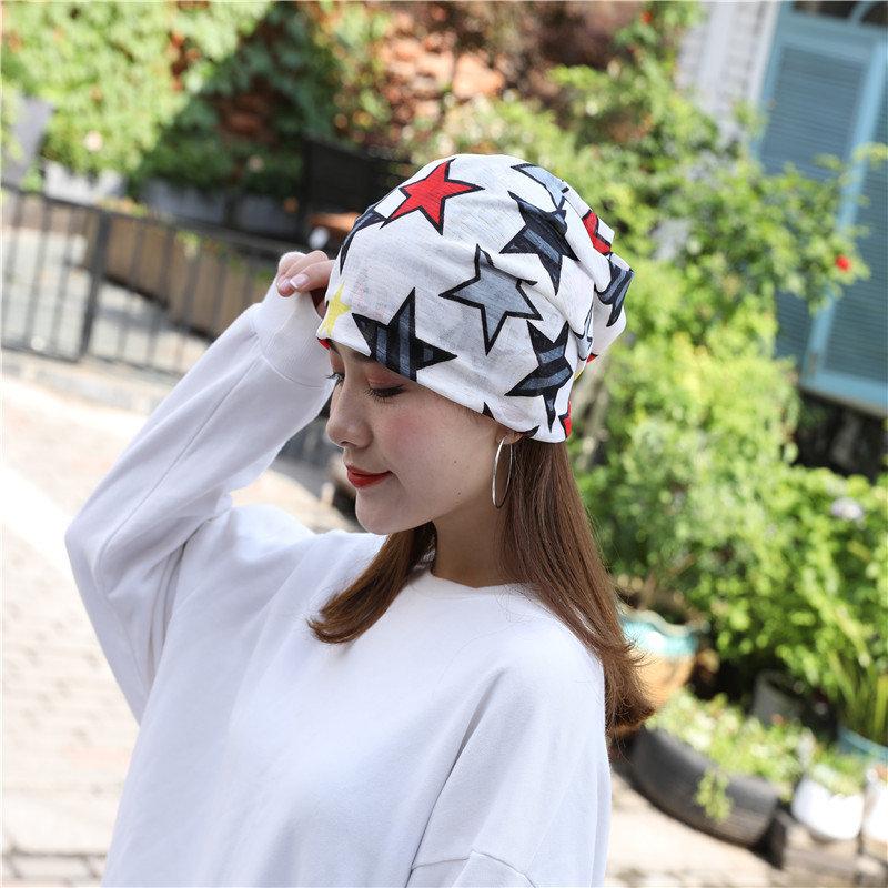 Woman Silk Cap Cancer Cap Casual Beanie Hat
