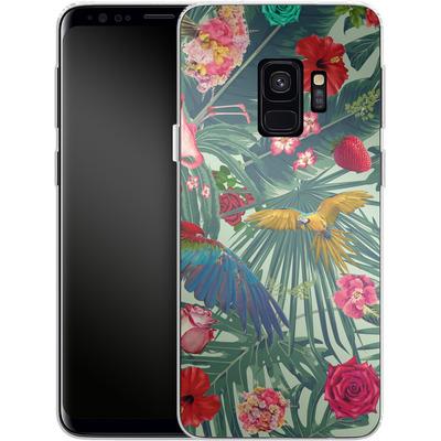 Samsung Galaxy S9 Silikon Handyhuelle - Tropic Fun von Mark Ashkenazi