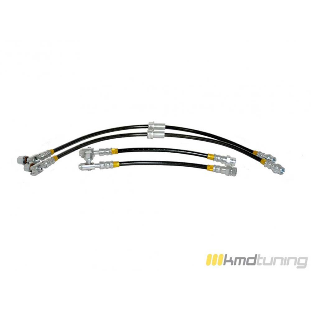 KMD Tuning 1K0611701K-4SS-272 Stainless Steel Brake Line Kit Volkswagen Jetta MK 6 Sedan | Sportwagen 11-18