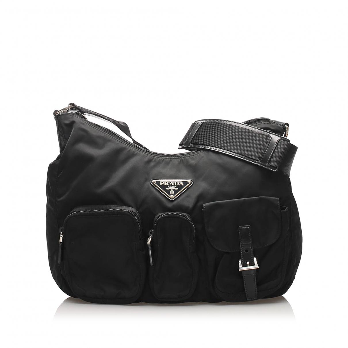 Prada N Black Cloth handbag for Women N