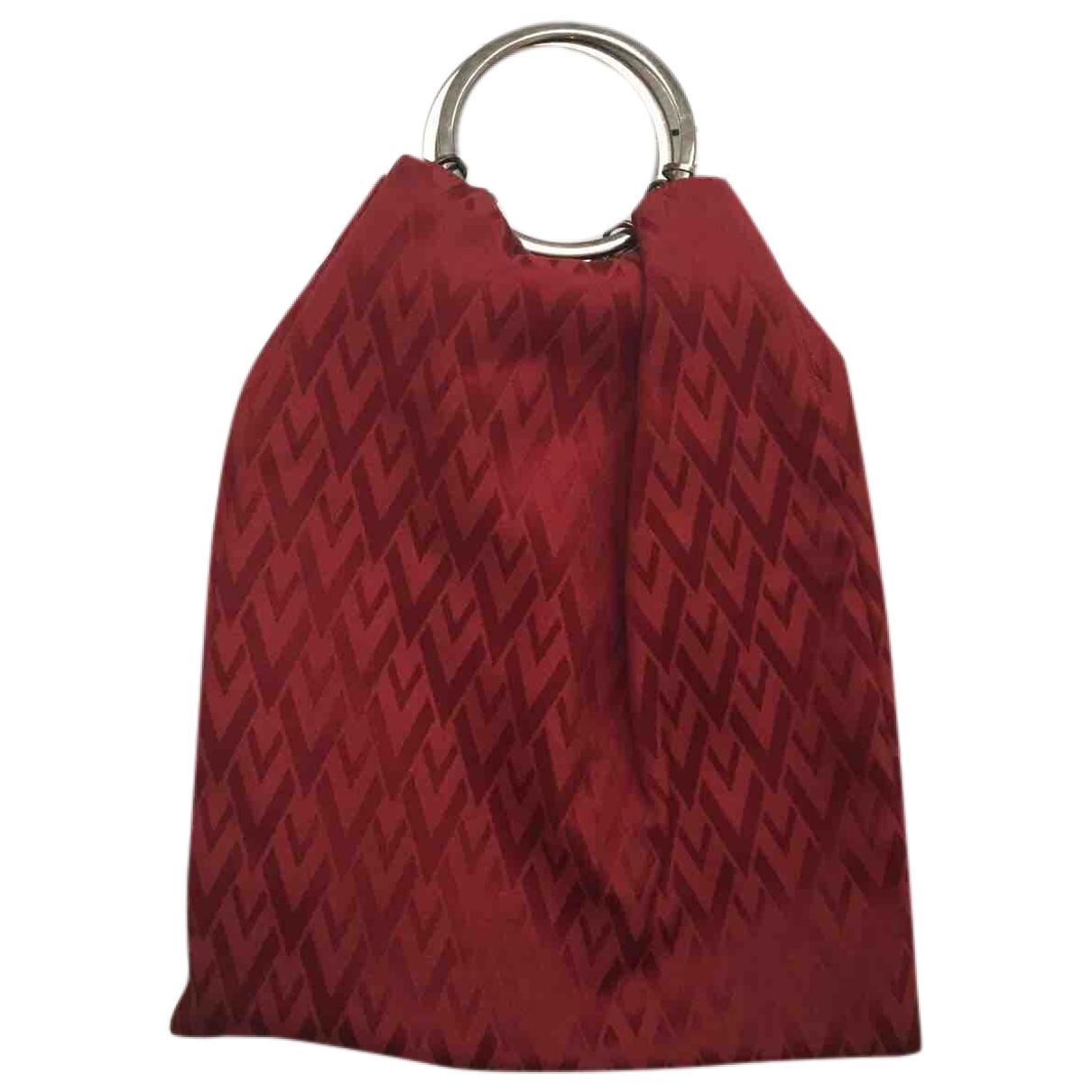 Valentino Garavani \N Red Cloth handbag for Women \N