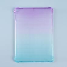 Funda de ipad transparente de ombre