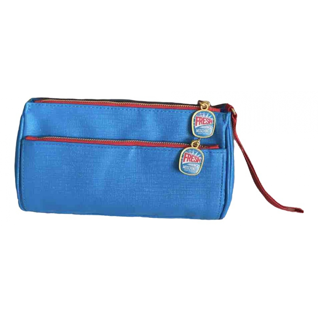 Moschino \N Blue Cloth Clutch bag for Women \N