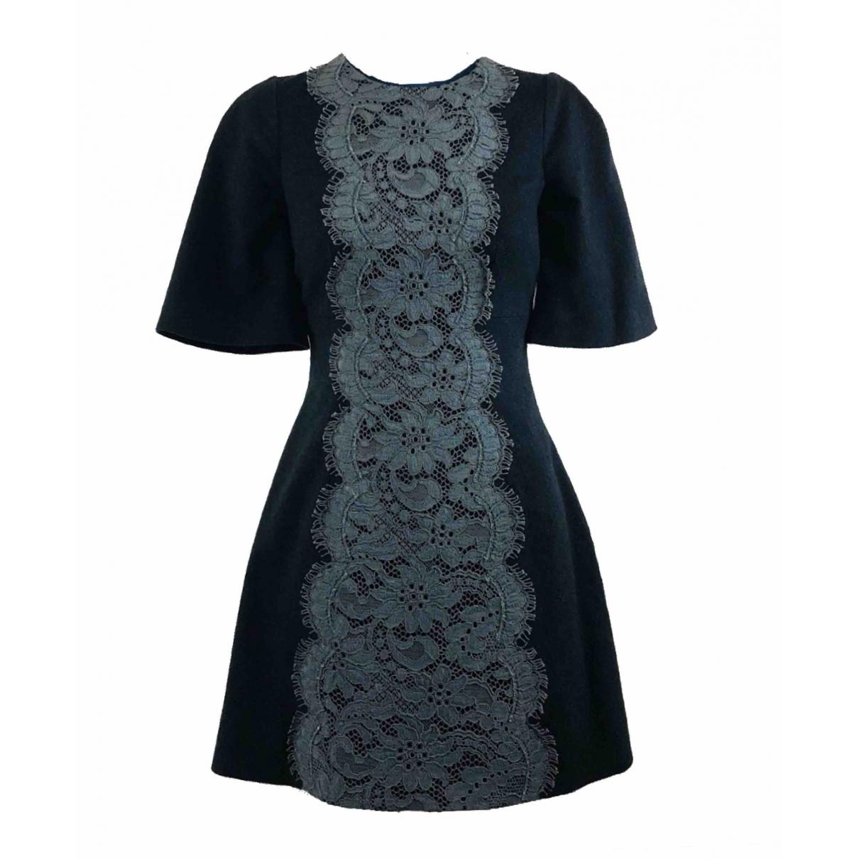 Dolce & Gabbana \N Kleid in  Anthrazit Kaschmir