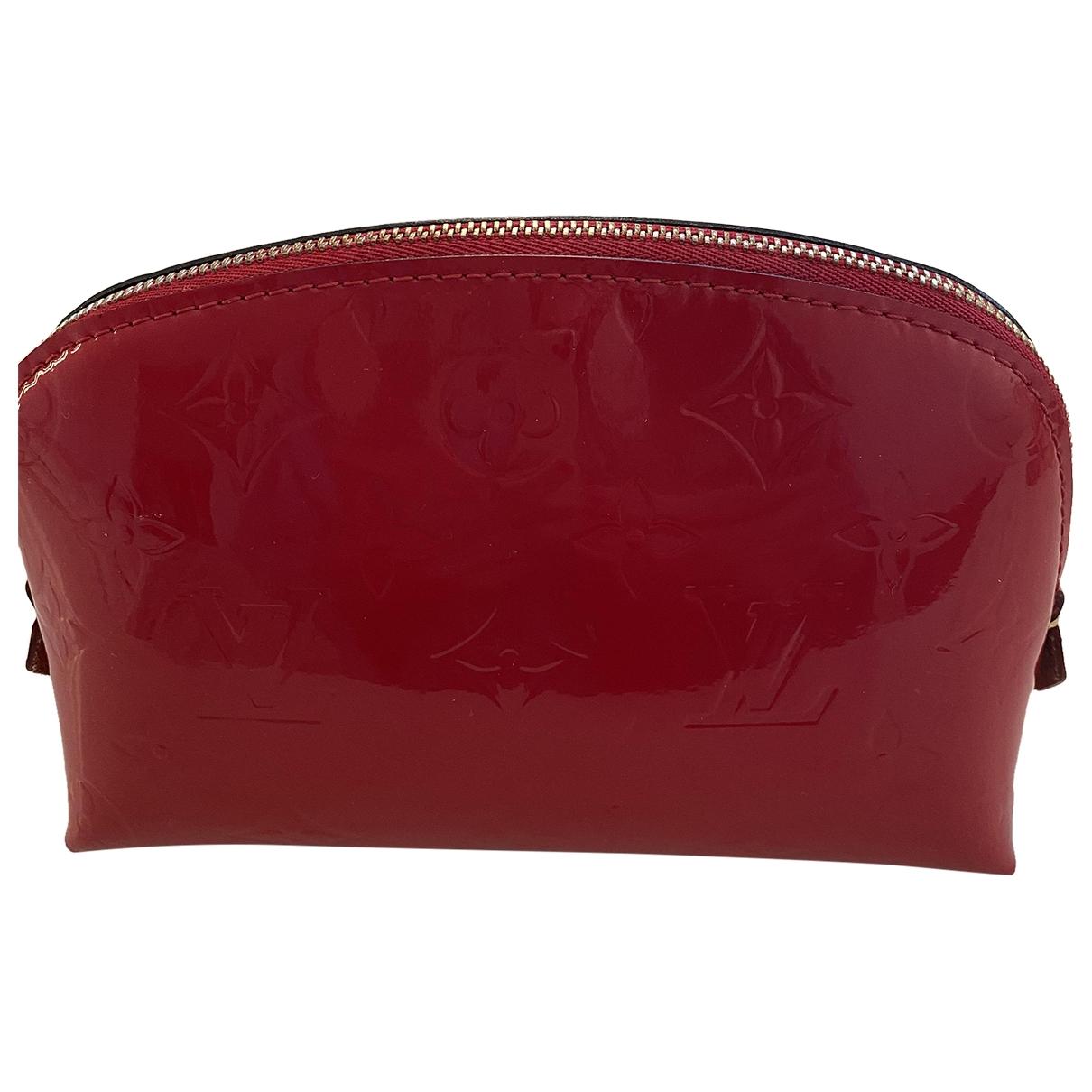 Louis Vuitton - Sac de voyage   pour femme en cuir verni - rouge