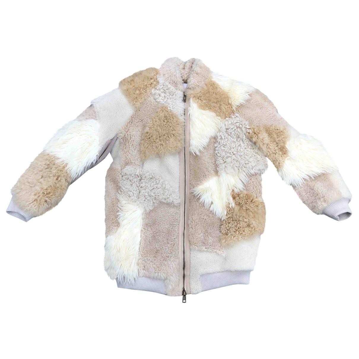 Chloé \N Beige Wool coat for Women 38 FR
