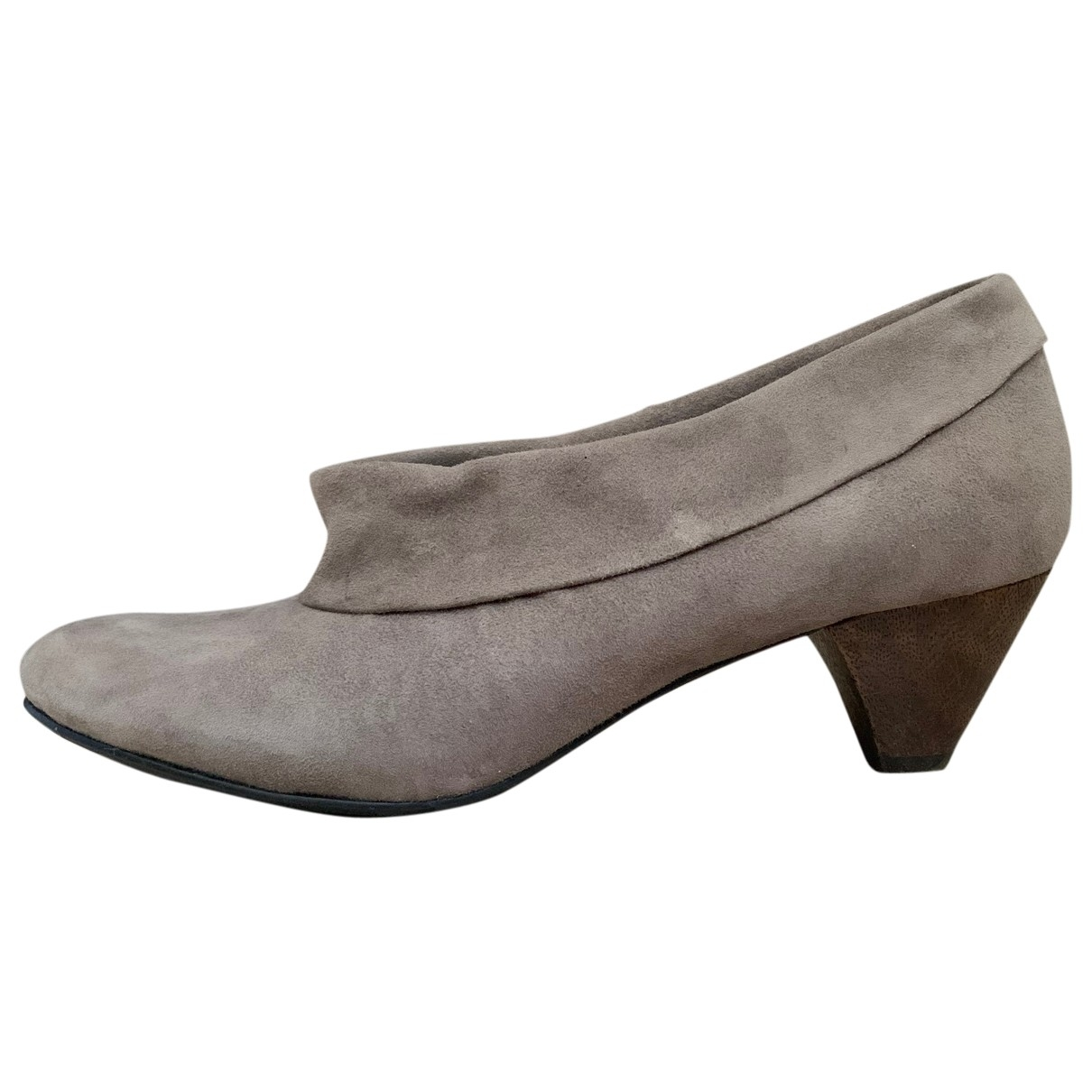Ash - Boots   pour femme en suede - marron