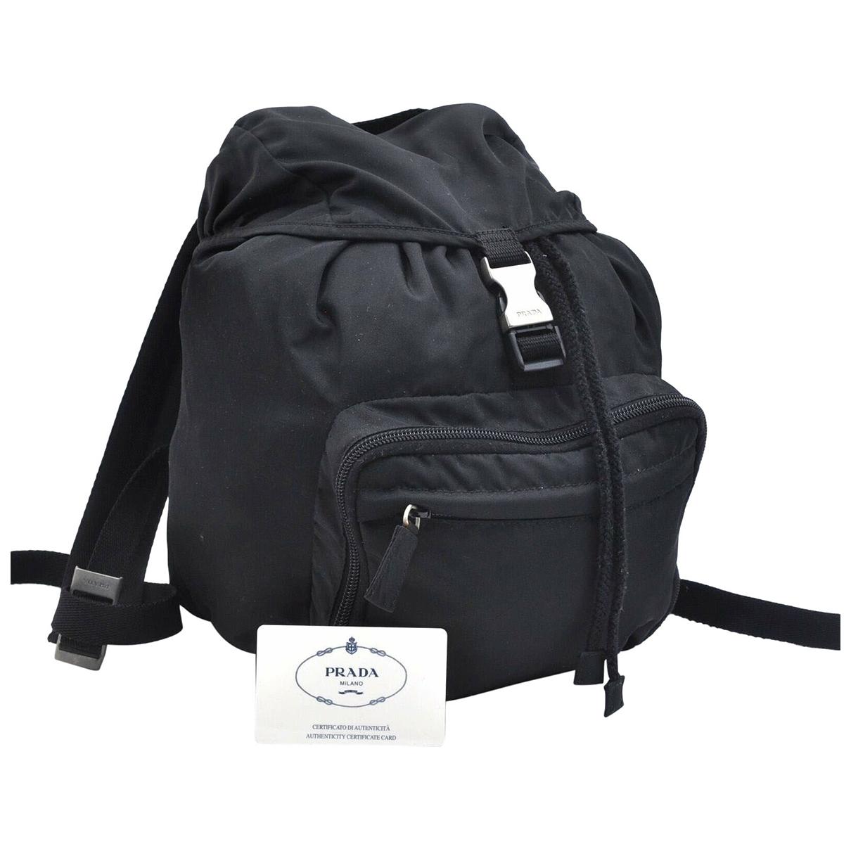 Prada N Black backpack for Women N