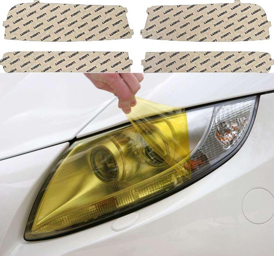 GMC Savana Van 04-16 Yellow Headlight Covers Lamin-X G015Y