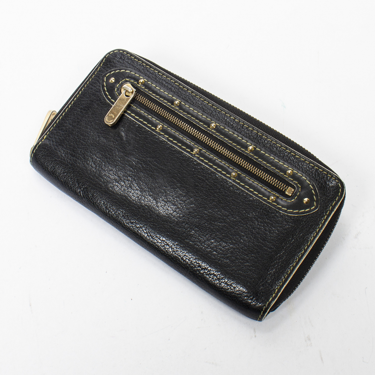 Louis Vuitton Zippy Black wallet for Women \N